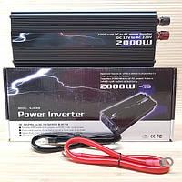 Инвертор 12v-220v UKC SSK 2000W. Преобразователь напряжения