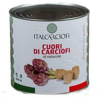 Артишок резанный в собственном соку TM Italcarciofi 2,5 кг