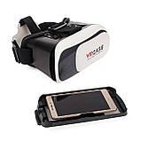 Очки виртуальной реальности VR BOX - Белый, фото 3