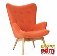 Кресло Флорино (ассортимент цветов) (с доставкой) Оранжевый