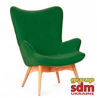 Кресло Флорино (ассортимент цветов) (с доставкой) Зеленый