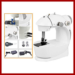 Швейная мини-машинка 4 в 1 mini sewing machine 201 c педалью - R131944