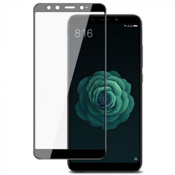 Защитное стекло Epik 5D Full Cover для Xiaomi Mi 6X/Mi A2 Black