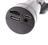 Беспроводной караоке микрофон WS1816 со цветомузыкой и чехлом - Черный, фото 3
