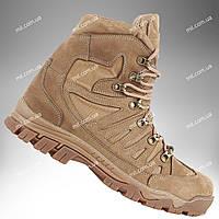 ⭐⭐Ботинки тактические демисезонные / военная, армейские обувь КАСКАД (coyote) | военная обувь, военные ботинки, военные боты, військове взуття,