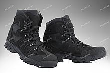 ⭐⭐Ботинки тактические демисезонные / военная, армейские обувь КАСКАД (black)