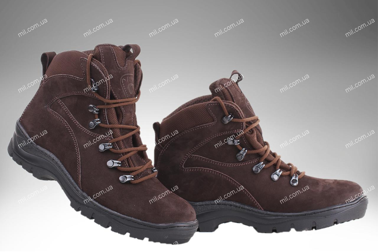 Ботинки деми армейские ОМЕГА (шоколад) размеры 35-46