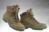 Ботинки деми армейские ОМЕГА (шоколад) размеры 35-46, фото 5