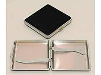 PR7-83 Портсигар бархат на 20 сигарет (металл. держатель)