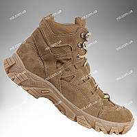 ⭐⭐Тактическая обувь демисезонная / военные, армейские ботинки Tactic HARD1 (coyote) | военная обувь, военные ботинки, военные боты, військове взуття,