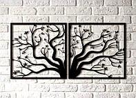 Интерьерная картина Decart Tree T1001, 100х50, из дерева