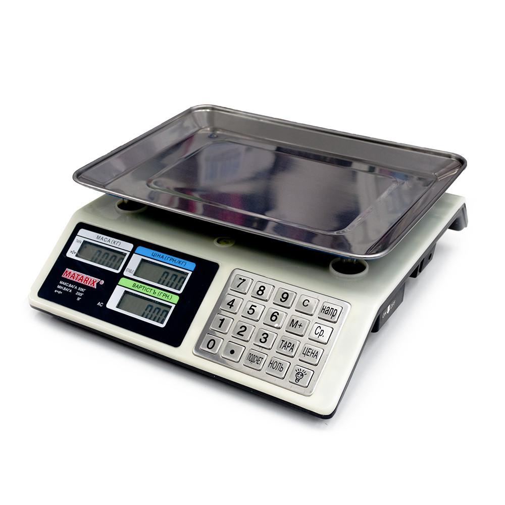 Весы торговые MATARIX MX-414 S MB 50кг