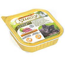 Влажный корм для кошек Мистер Штузи Mister Stuzzy Cat Chicken Liver паштет с курицей и печенью 100 г