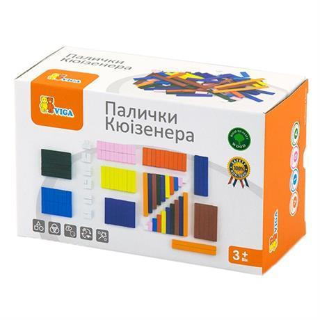 """Набор для обучения Viga Toys """"Палочки Кюизенера"""" 116 шт"""