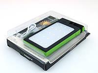 DLS16 Power Bank 54000mAh Solar Charger с солнечной панелью LED светильником (прожектором), зеленый