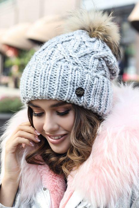 Женская зимняя шапка «Енеіс»