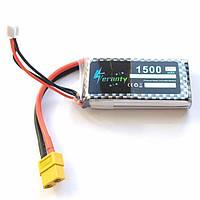 Аккумулятор 7.4V 1500mAh 25C LiPo для квадрокоптера Syma JJRC Hubsan