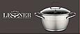 ✅ Каструля Lessner 55866-18 (нержавіюча сталь, 18 см, 2.2 л), фото 4