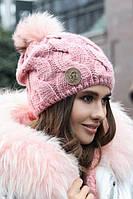 Женская зимняя шапка «Малинуа»