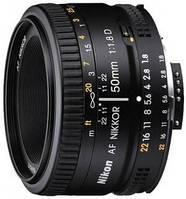Объектив для видео/фотоаппарата Nikon AF-S Nikkor 50mm f/1.8G (JAA015DA)