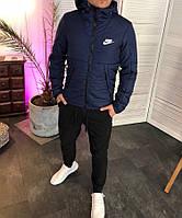 Мужская зимняя куртка с капюшоном Nike 3 цвета