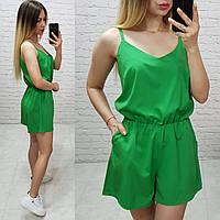 Комбинезон пижама цельный арт. 102/1 зеленый / зеленого цвета, фото 1