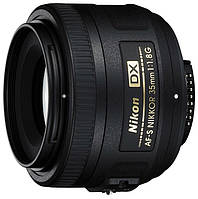 Объектив для видео/фотоаппарата Nikon AF-S DX Nikkor 35mm f/1.8G (JAA132DA)