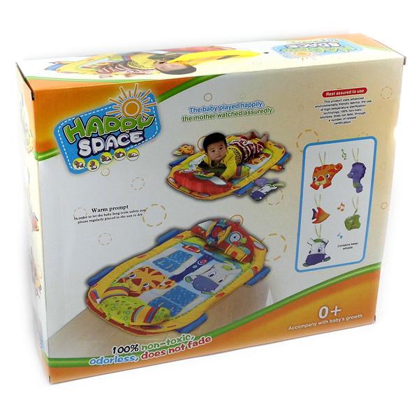 """Коврик для малышей """" Машина"""" + 5 игрушек"""