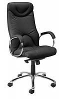 Кресло кожаное для руководителя  «ELF steel chrome» SP, фото 1