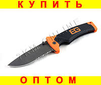 Складной нож Gerber EE7 + Чехол + Серрейтор