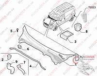 Уплотнение крепления планки под лобовое стекло  Fiat Doblo (2009-……) 51915221 FIAT 51911203