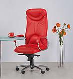 Кресло кожаное для руководителя  «ELF steel chrome» SP, фото 2