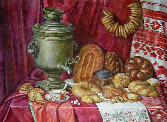 Картина Натюрморт В.Ромащенко 2012г., фото 2