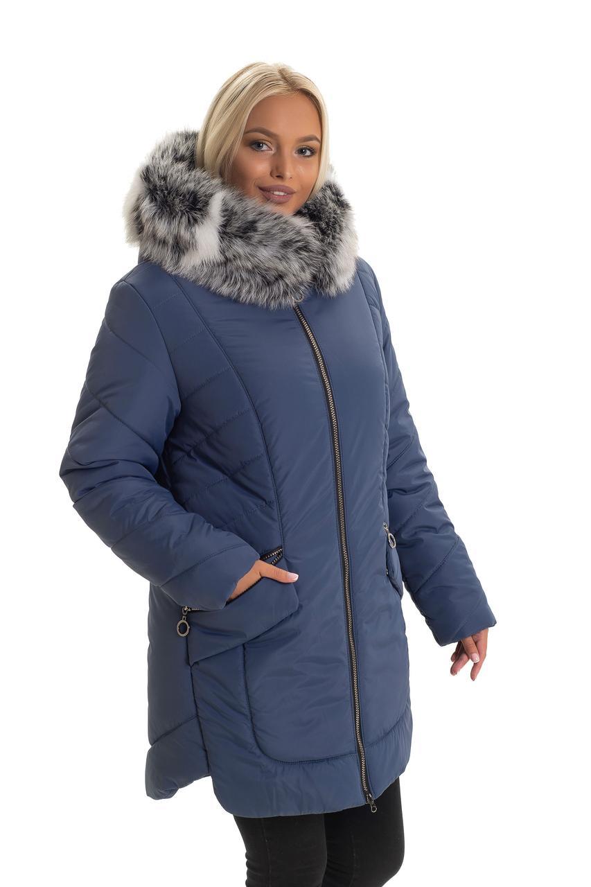 Зимняя куртка от производителя с мехом
