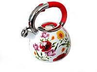 Чайник со свистком 3.5л Эмаль