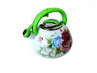 Чайник со свистком 3.2л Эмаль