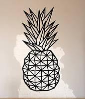 Интерьерная картина Decart Pineapple P1002, 25х55, из дерева