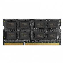 Оперативная память DDR3 для ноутбука SO-DIMM 8GB Team TED3L8G1600C11-S01