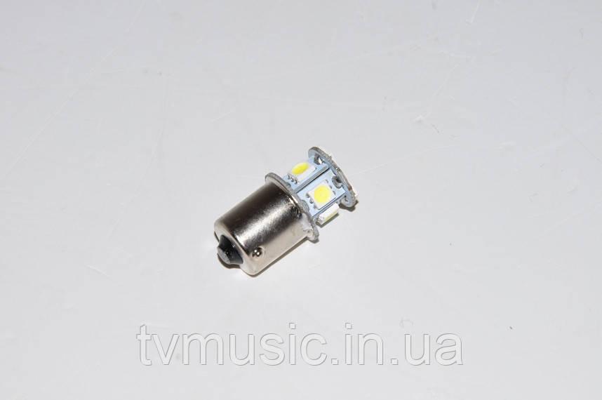 Светодиодная лампочка T25-5050-8SMD-1156 (один контакт)