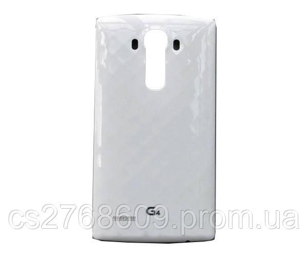"""Задня кришка LG G4/H810/H815 (white) """"Original"""""""