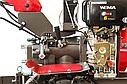 Мотоблок дизельний WEIMA DeLuxe WM1100AE6 КМ DIFF, фото 8