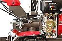 Мотоблок дизельный WEIMA DeLuxe WM1100AE6 КМ DIFF , фото 8