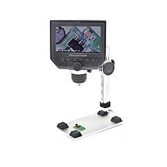 Цифровой микроскоп G600+ с монитором (экраном) 4.3'' на железном штативе 3.6 Мп