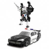 Робот трансформер полиция