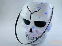 Череп Стробоскоп смеющийся на Хэллоуин Halloween 18 см, фото 1