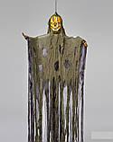 Мумия тыква с криком и мигающими глазами, декор на хэллоуин Halloween 170 см, фото 2