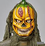 Мумия тыква с криком и мигающими глазами, декор на хэллоуин Halloween 170 см, фото 8