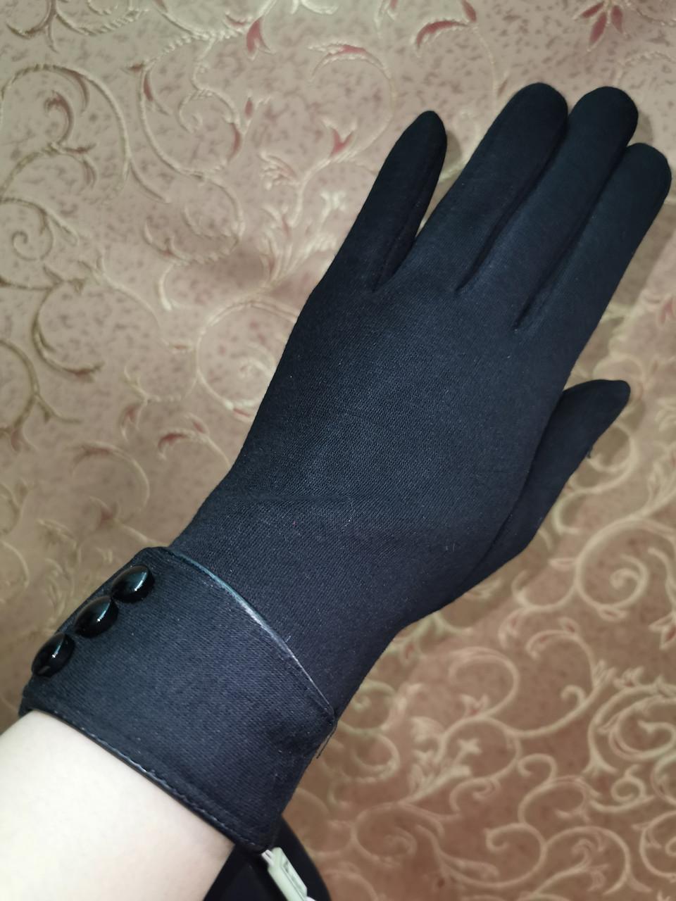 Трикотаж с сенсором Angel женские перчатки для работы на телефоне плоншете (только ОПТ)