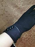 Трикотаж с сенсором Angel женские перчатки для работы на телефоне плоншете (только ОПТ), фото 3