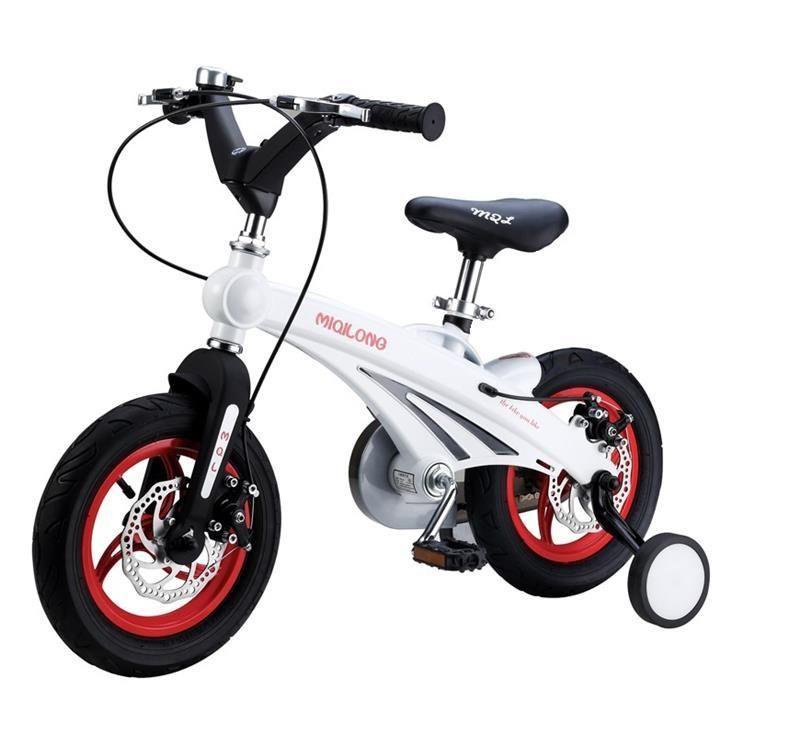 """Детский велосипед Miqilong MQL-GN (12""""), цвет белый"""